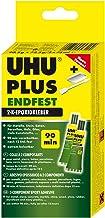 Uhu Plus vast Eindvast - 2 x 75 ml