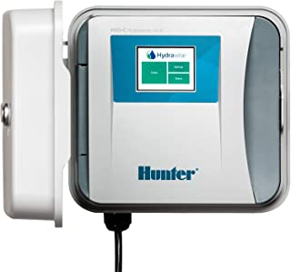 Hunter Industries HPC400 Hydrawise HPC-400 Base 4-Station Outdoor Irrigation Controller, Gray