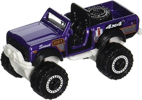 Match Box international Scout 4x 4Violet Jeep tout-terrain MBX Explorer