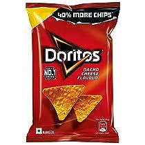 [Pantry] Doritos Nacho Chips – Nacho Cheese Flavour – 100g/110g (Weight may Vary)