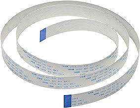 Pi Camera Cable, Arducam Octoprint Octopi Webcam, Monitor 3D Printer, 3.28FT/100CM Long Extension Flex Ribbon Cable for Ra...