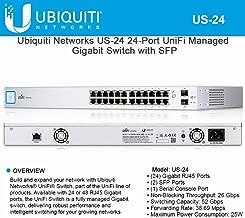 Ubiquiti Networks US-24 24-Port UniFi Managed Gigabit Switch with SFP