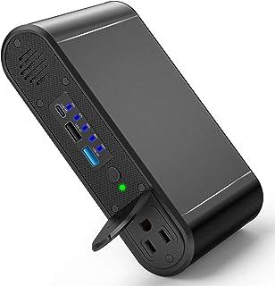 【最新型】ポータブル電源 AC出力対応 純正弦波 45WPD USB-C 超急速充電対応 116Wh / 30000mAh 100W AC出力 モバイルバッテリー 大容量 静音 車中泊 緊急・災害時バックアップ用電源 MacBook/ノートパソコン