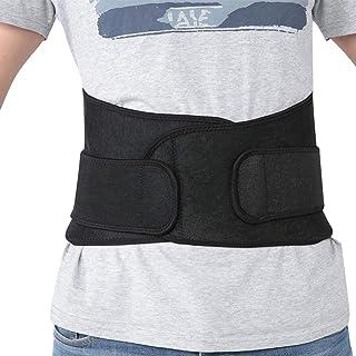Waist Support Belt, Elastic Lumbar Back Belt Lightweight Waist Band, Waist Support Brace for Fitness Women Men Gym