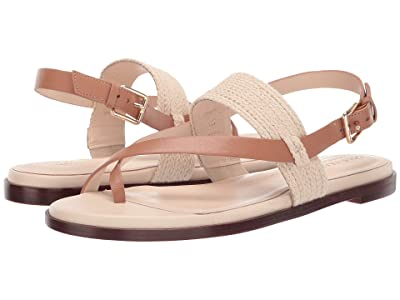 Cole Haan Anica Thong Sandal (Natural/Pecan) Women