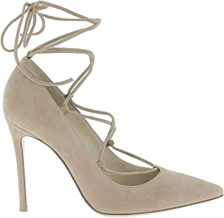 GIANVITO ROSSI Luxury Fashion Womens G2074715RICCAMPRAL Brown Pumps | Season Outlet