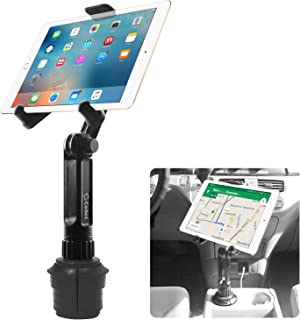 Cup Holder Tablet Mount , Tablet Car Cradle Holder made by Cellet Compatible for iPad Pro/Air 2019/Mini iPad 9.7 Samsung G...
