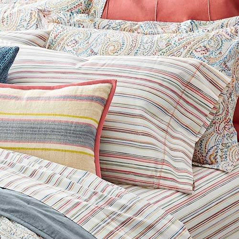 Lauren by Ralph Lauren Cayden Stripe Pillowcase Pair - King
