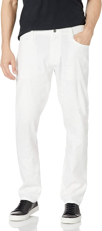 Cubavera Men's Linen Stretch 5-Pocket Pant