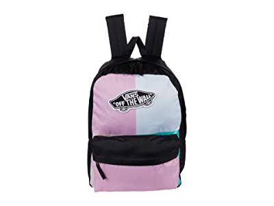 Vans Realm Backpack (Orchid Patchwork) Backpack Bags