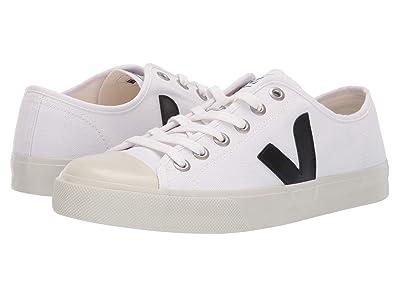 VEJA Wata (White/Black Canvas) Athletic Shoes