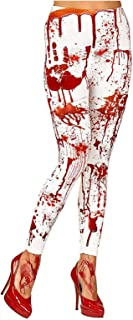 Islander Fashions Damen Halloween Party Bloody Leggings Damen Kostm Scary Zombie Pants