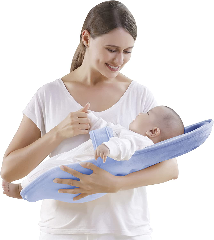 YULAILE Baby Nursing Pillow Newborn Lounger Baby Pillow Breastfeeding Pillows New Born Essentials for Baby Breastfeeding Essentials Bottle Feeding