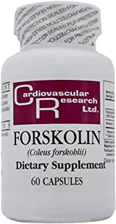 Cardiovascular Research Forskolin, White, 60 Count