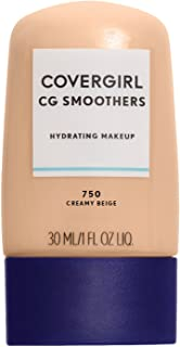 COVERGIRL Smoothers Hydrating Makeup Creamy Beige, 1 oz (packaging may vary)