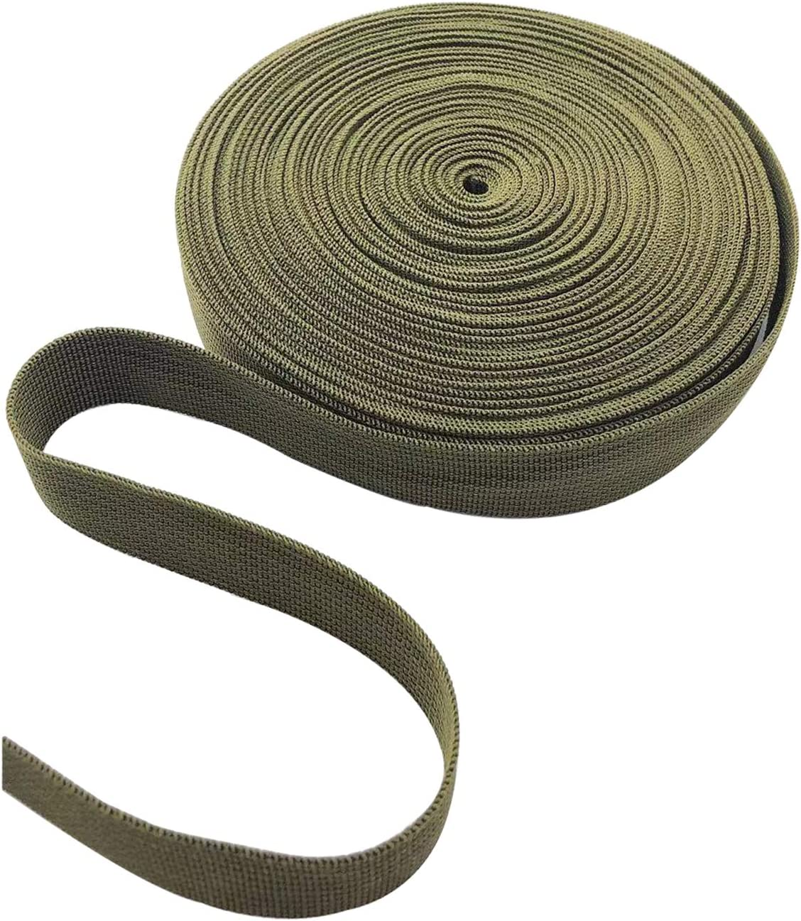 HanyHere 1 Roll 65.6 Feet Tree Tie for Plant Support Garden Strap 1 Inch Width Staking and Guying Material 1,800 Lbs Strength (Army Green) : Patio, Lawn & Garden