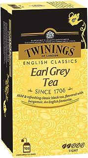 Twinings Earl Grey Tee 100 Teebeutel, Umkarton mit Transportschaden Inhalt einwandfrei