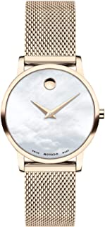 Museum Classic Quartz Movement Mother Of Pearl Dial Ladies Watch 607352