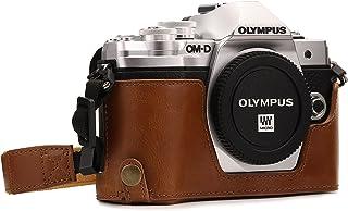 MegaGear MG1352 Estuche para cámara fotográfica - Funda (Funda Olympus Tirante para Hombro Marrón)