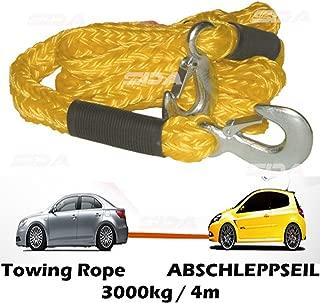 Dunlop C/âble de remorquage 3000/kg avec 2/crochets Corde abschlepphilfe bergung Corde