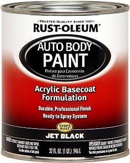 Rust-Oleum Automotive 253500 32-Ounce Autobody Paint Quart, Jet Black