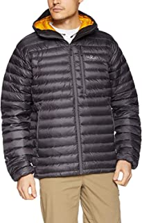 RAB Mens Microlight Alpine Jacket Beluga/Dijon (Large)