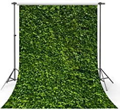 MEHOFOTO 5x7ft Spring Background Natural Green Lawn Leaves Party Decorations Photography Backdrop Newborn Baby Lover Summer Wedding Photo Studio Props