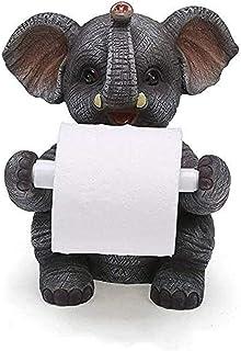 Huishoudelijke leuke desktop verticale papieren handdoekhouder toiletrolhouder hars dier uiterlijk creatieve toiletrolhoud...