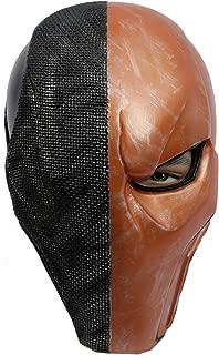 Xcoser Deathstroke Mask Helmet Orange V5 Newest version Adult