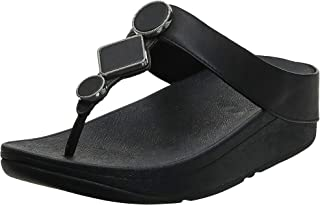 FitFlop Leia Leather Toe-Thongs Women's Sandals