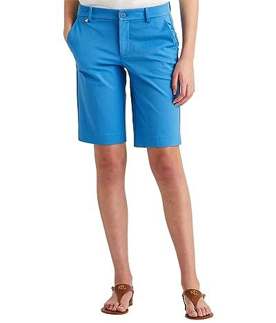 LAUREN Ralph Lauren Petite Bi-Stretch Twill Shorts Women