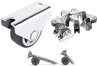 (Pack van 200) 30 mm kleine wielen rubberen wielen vaste wielen zware wielen niet-draaibare wielen meubels wielen wielen w...
