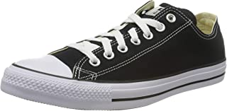 Converse Unisex Adults' Black Low-Top Sneakers