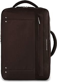 Piquadro Computer Portfolio Briefcase with Shoulder Pads, Dark Brown