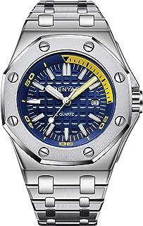 Mens Waterproof Analog Quartz Watch-BENYAR Luxury Business Sport Design Watch Perfect for Birthday Gift