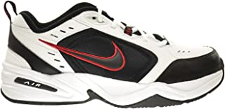 Nike Air Monarch IV (4E) Extra-Wide Men's Shoes White/Black-Varsity Red 416355-101