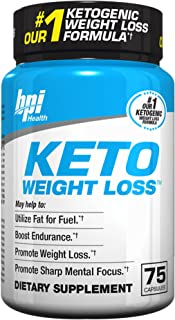 Keto Weight Loss Is A Ketogenic Fat Burner - Formulated for the Keto Diet To Burn Fat, Maintain Ketosis, Enhance Mental Fo...