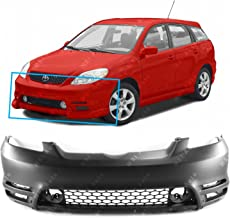 MBI AUTO - Primered, Front Bumper Cover Fascia for 2003 2004 Toyota Matrix XR XRS 03 04, TO1000237