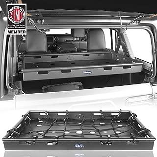 u-Box Interior Cargo Rack Basket Security Cargo Carrier for 2011-2018 Jeep Wrangler JK Unlimited 4-Door