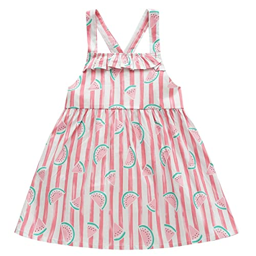 3752eca4b9e BOBORA Baby Girls Summer White   Blue Plaid Dresses Printed Sleeveless  Tunic Dress