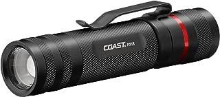 Coast PX1R 460 lm Rechargeable Focusing LED Flashlight, Black