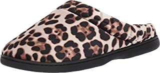 leopard house shoes