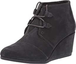 TOMS Womens Kala Forged Iron Grey Suede 7 B (M)