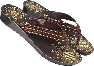 Axter Women's Brown 5015 Slipper