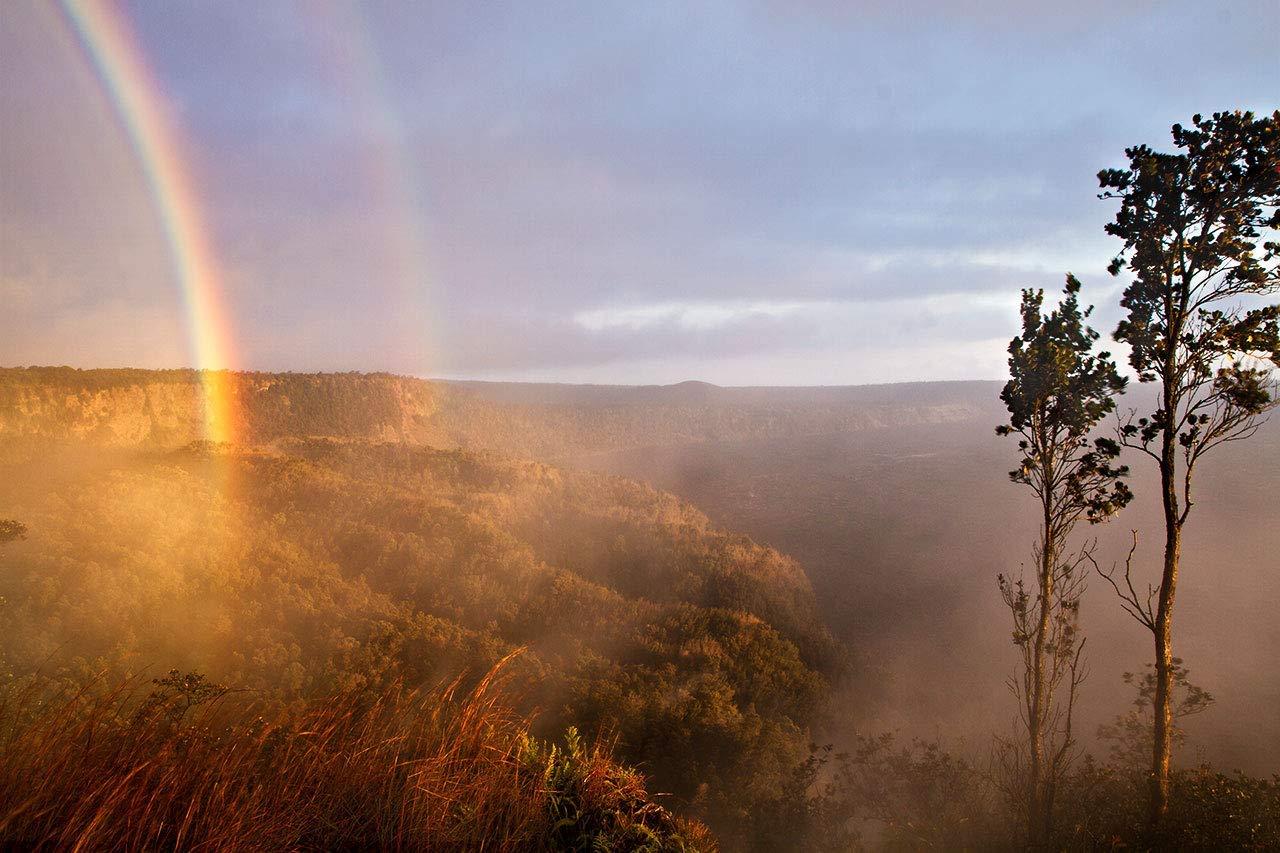 Hawaii Photography Great interest Volcanoes National Rainbow Popularity Photo Park