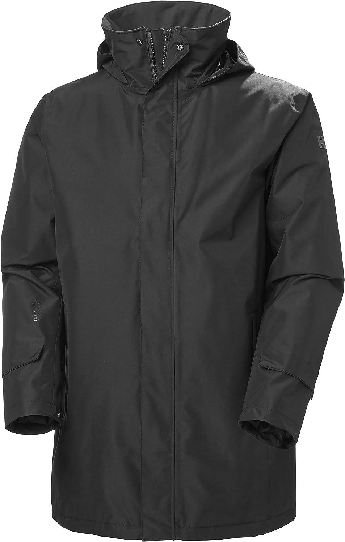 Helly-Hansen Men's Dubliner Waterproof Breathable Insulated Long Hooded Jacket