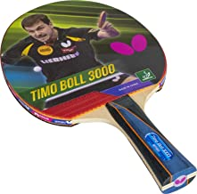Butterfly Timo Boll 3000 Shakehand Table Tennis Racket | Japan Series | Good Speed And Spin With Superb Control | Recommen...