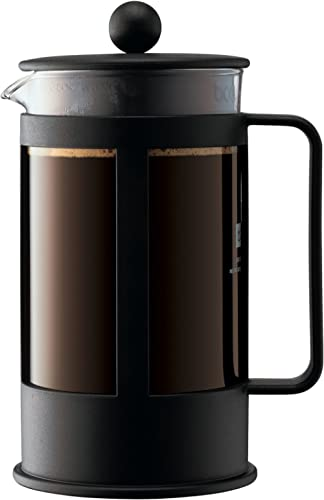 Bodum Coffee Maker Kenya French Press, Black, 1788-01