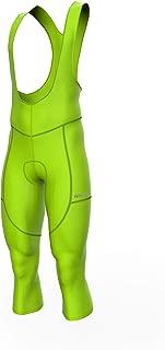 Sparx Men Cycling Winter 3/4 Bib Pants 3 Quarter Bib Tights Bike Thermal Vizi