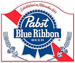 American Classic Beer Pabst Blue Ribbon PBR Vinyl Wall Decal Decor Sticker Quote